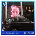 Facile installer fenêtre verre led affichage publicitaire xx films