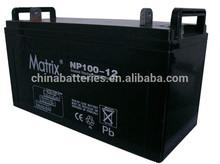 12v 100ah sealed lead acid deep cycle battery / 12v 100ah battery