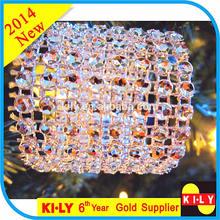 Rhinestone Bling trim mesh Christmas Ornament for your Christmas Tree