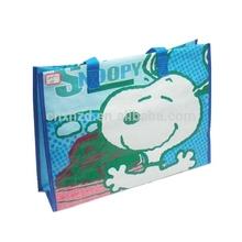 snoopy pp woven shopping bag