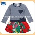 ( h4720) ng 18m-6y nova kinder Boutique kleider kinder bluse kleid baby mädchen geburtstag kleider