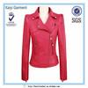 OEM fashion latest women wholesale jakarta leather jacket jackets