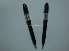High quality Aluminum spiky pen pink fluffy pen