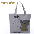 SGS passed High Quality 10oz cotton canvas tote bag