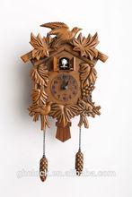 2014 new style Fake wood color cuckoo wall clock