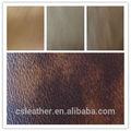 2014 caliente vender semi pu tapicería de cuero de la acción