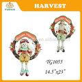 Festival de la cosecha decoración, Espantapájaros de la rota guirnaldas decorativas