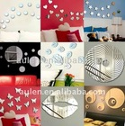 Home Decor Acrylic Mirror Stickers