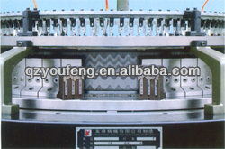 single forward-stitching terry circular knitting machine
