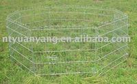 pet products portable folding metal dog fence enclosure
