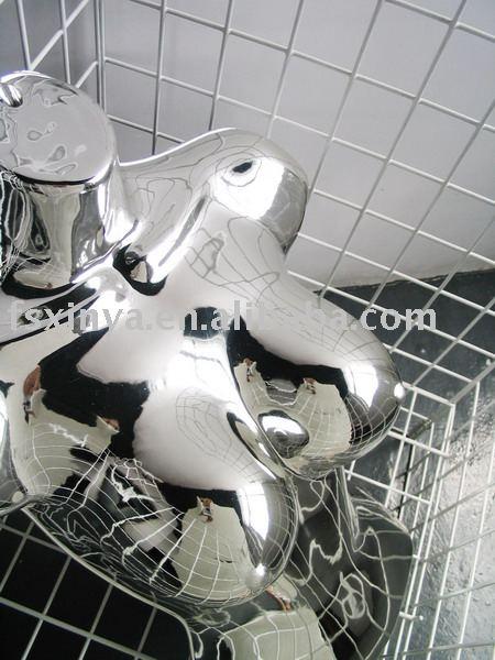 Cromo Sexy para mujer de plástico colgando maniquí / maniquí de plástico la forma del cuerpo ( 812 - 02-SEXY-CHROME )
