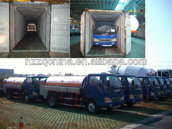 2011 Export to Egypt -- 4000L (China JAC 4x2) Fiscal Tank Truck (115HP)