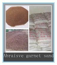waterjet abrasive garnet, abrasive garnet sand for waterjet cut machine