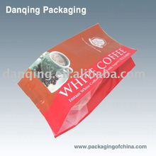 coffee bags with side gussets(10,000 pieces in stock)