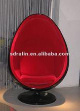 classical design fiberglass Eero Aarnio egg pod chair