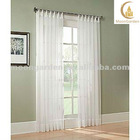 Beautiful 100% Polyester Voile Curtain For HomeTextile
