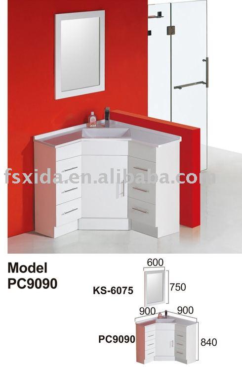 Banheiro mdf armário de cantoPenteadeiras para banheiroID do produto241541 -> Armario De Banheiro De Canto Com Espelho