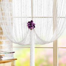 flexible unique fashionable decorative line screen/string curtain
