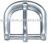 small or big popular fashion high quality cheap belt ribbon clothes garment bag round metal pin Buckle