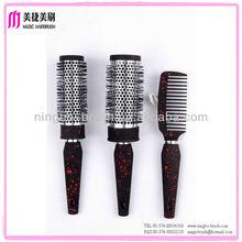 ningbo Plastic Hair brush manufacturer easy detangling professional quality