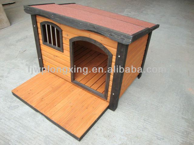 Dog Kennel With A Platform
