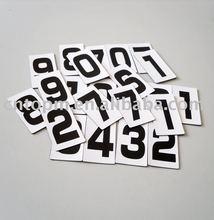 number magnet,magnet number stationery set