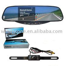 Bluetooth Handsfree Mirror Car Reverse Camera