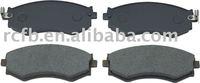 auto brake pads for nissan 200 SX,almera , maxima ,pintara,primera,sentra,skyline