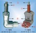 Nuevo tipo de plástico del enchufe de energía ( tapones para los oídos, eléctrico plug )