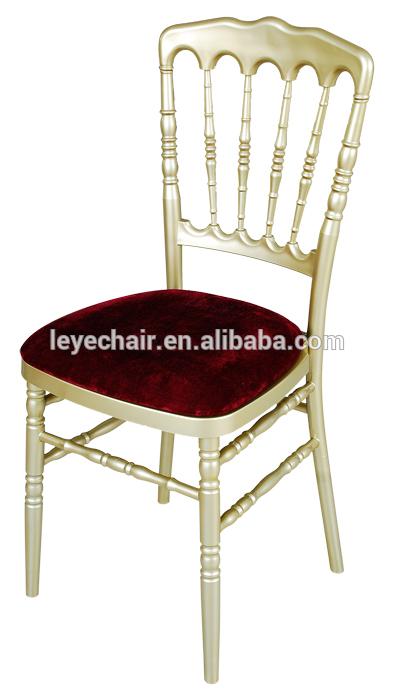 Factory Direct Screw-Free Elegant Transparent/Crystal/Clear/Arylic Tiffany /Chiavari Resin Chair for Party Wedding Rental