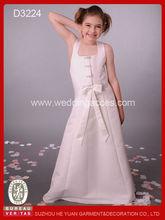 2014 Graceful sleeveless flower girls dresses / party dresses