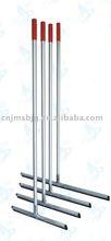 Aluminum handle floor wiper