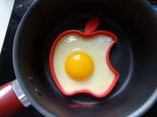 Food grade silicone fried egg mold for cooking, lovely shape egg mold