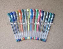 Glitter gel ink pen