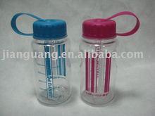 recyclable tableware 350ml plastic water bottle