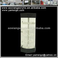 2012 Fashionabl rotating acrylic pipe display rack
