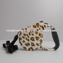 2015 new Pet products leopard print dog leash accessories