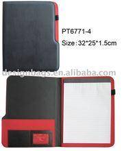 2013 fashion a4 portfolio file folder file case with colorful material