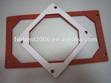 Closed cell Round shape corner Silicone sponge sheet