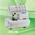 4 linha doméstica overlock máquina de costura