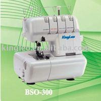 4 Thread Domestic overlock sewing machine