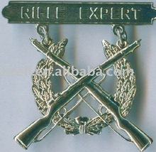 cheap 3d customized military metal badges