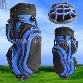 "9.5"" 14way divider high performance polyester golf club bag"