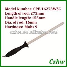 CPE-16273WSC unique patent impact-resistant ceramic sharpening steel sharpener ceramic knife sharpener