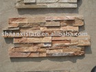 slate culture stone panel interior rusty wall paver