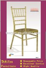aluminum hotel wedding chiavari chair
