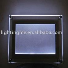 ultra slim module acrylic photography menu board slim led light box with CE FCC RoHs