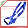 fast delivery multi-colors lanyards id badge holder