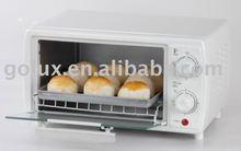 9L White Mini Oven 4 slice breads