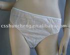 Nonwoven disposable panties/underwear for women